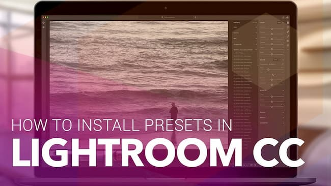 Install Lightroom Presets