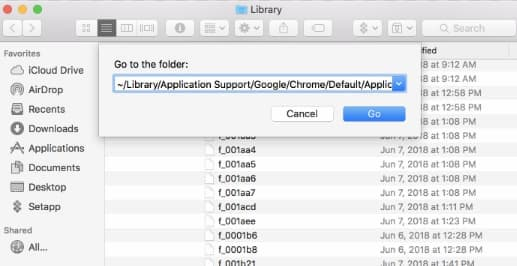 eliminating app library files