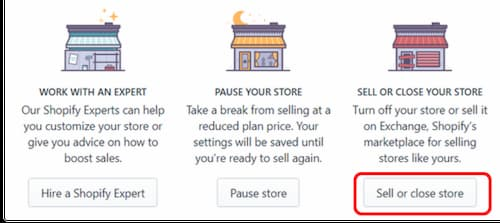 Shopify Account Deletion