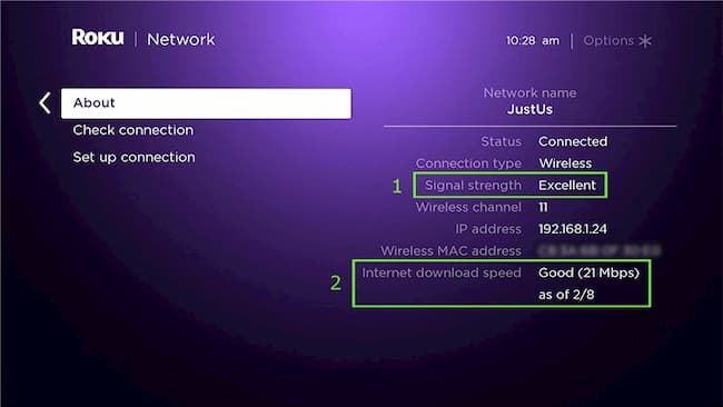 connect roku tv to wifi