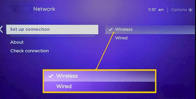 how to connect roku tv to wifi without remote control