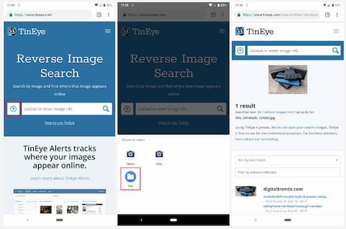 how to reverse search an image