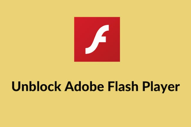 how to unblock adobe flash