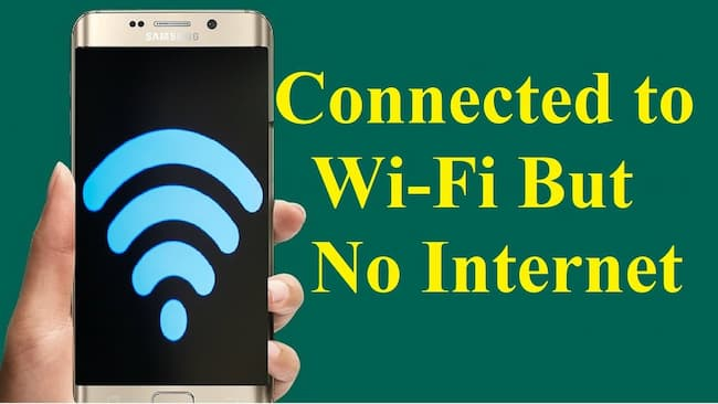 Phone Connected to Wifi But No Internet