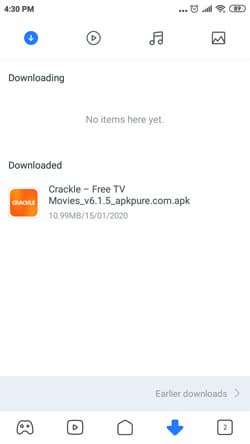 how to download crackle apk for android