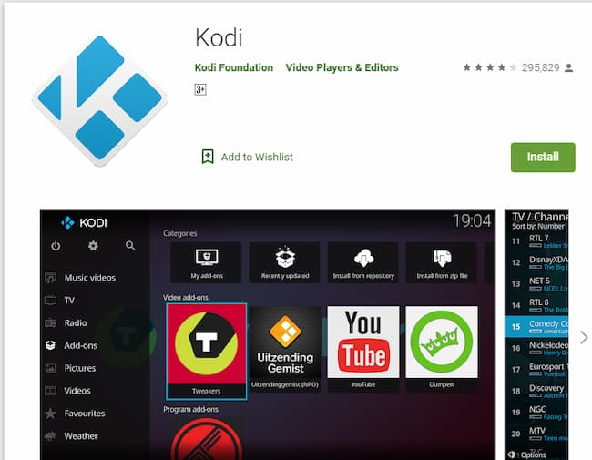download and install kodi 17.3 krypton on android