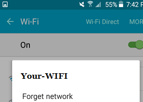 fix Phone Connected to Wifi But No Internet