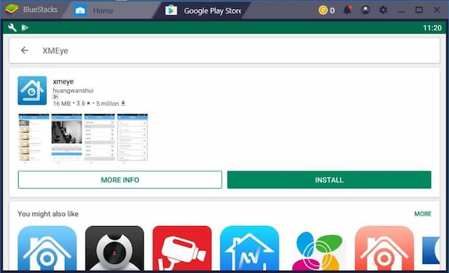 install xmeye for pc